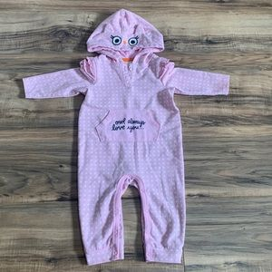 Cat & Jack owl jumpsuit